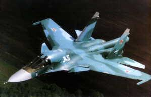 ...летные испытания серийных фронтовых бомбардировщиков СУ-34.
